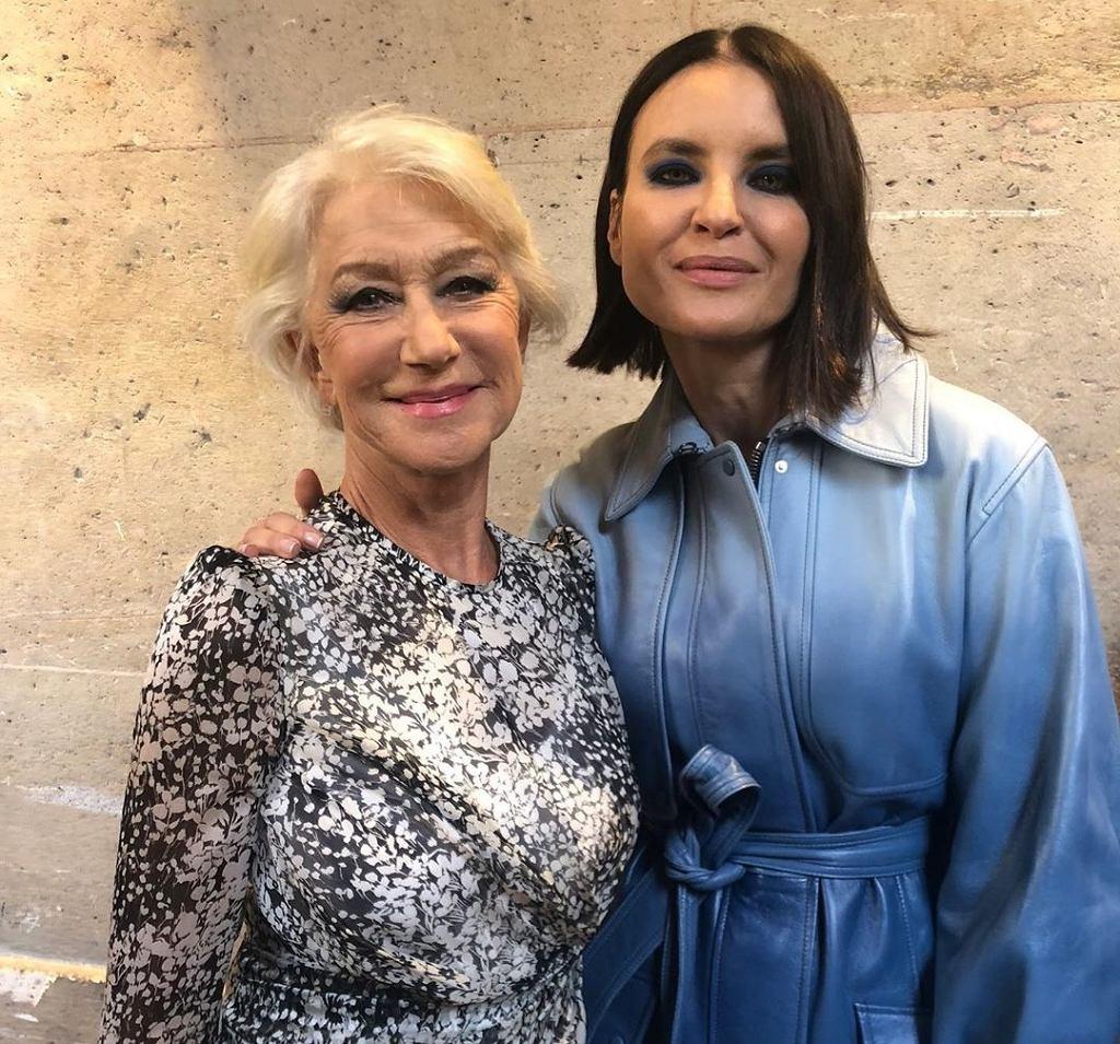 Joanna Horodyńska i Helen Mirren