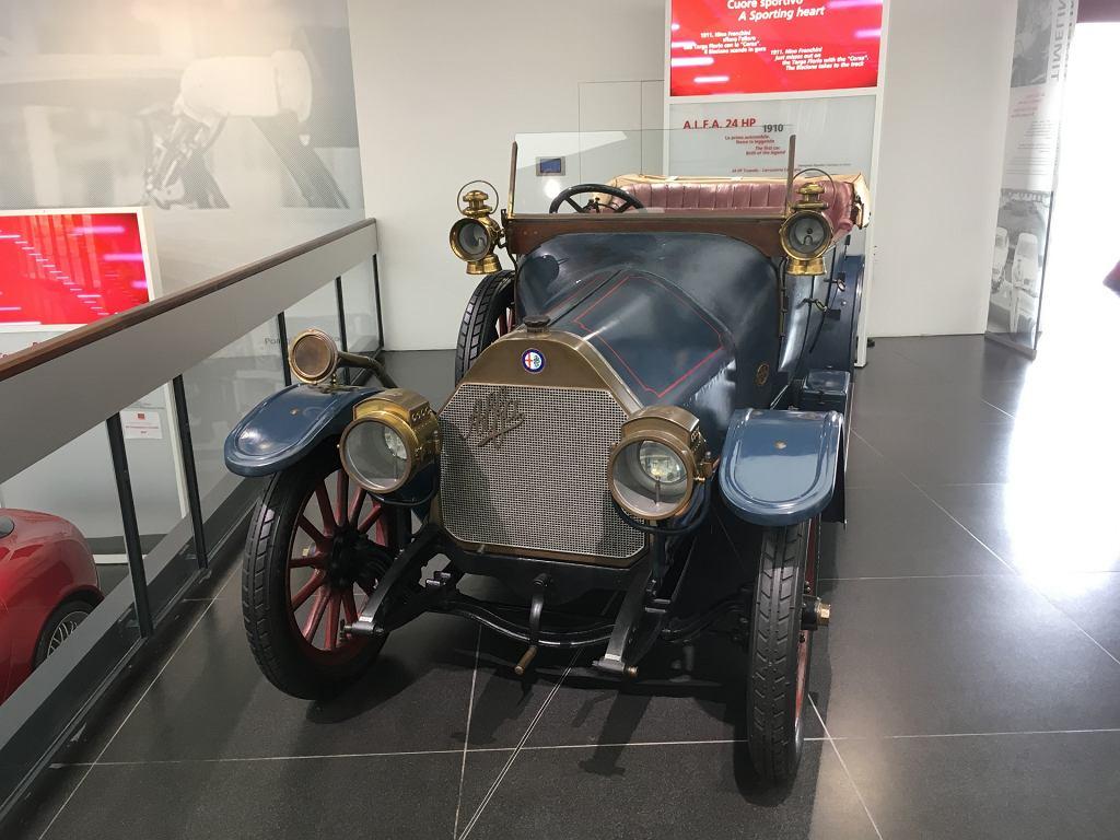 Alfa Romeo 24HP - pierwszy model w historii marki