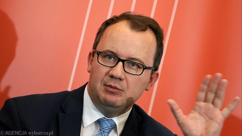 Rzecznik Praw Obywatelskich Adam Bodnar (fot. Sławomir Kamiński/AG)
