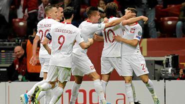 Reprezentacja Polski w meczu z Macedonią Północną