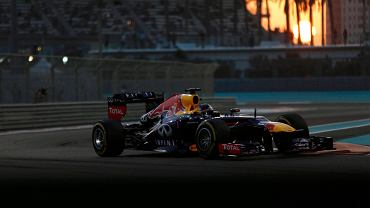 Sebastian Vettel w Abu Zabi