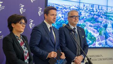 Rafał Trzaskowski ogłosił plan Warszawy na walkę ze smogiem
