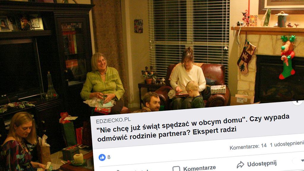 Święta Bożego Narodzenia z dalszą rodziną czy bez?