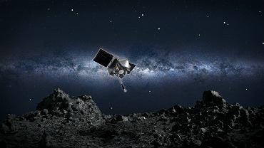 """NASA już we wtorek """"wyląduje"""" na asteroidzie Bennu. Pobrane próbki wrócą potem na Ziemię"""