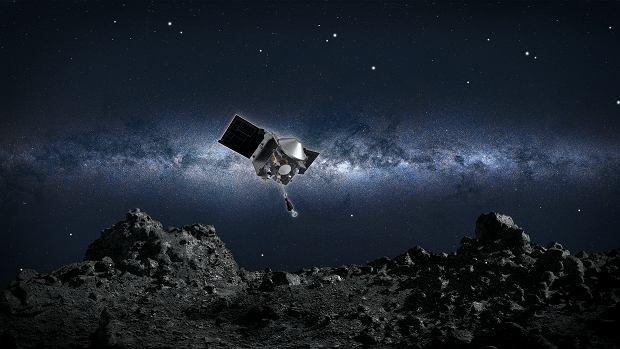 Misja OSIRIS-REx - NASA 'wyląduje' na asteroidzie Bennu