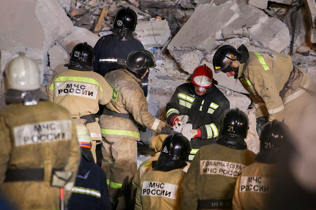 Magnitogorsk, wybuch gazu w bloku mieszkalnym