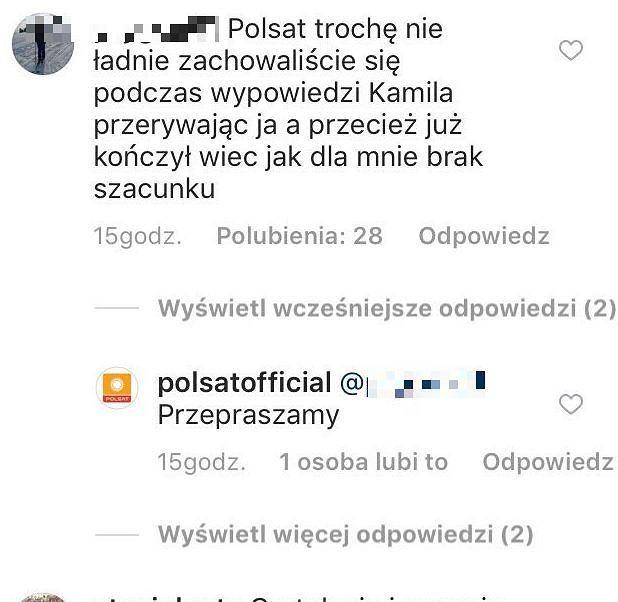 Polsat przeprasza widzów