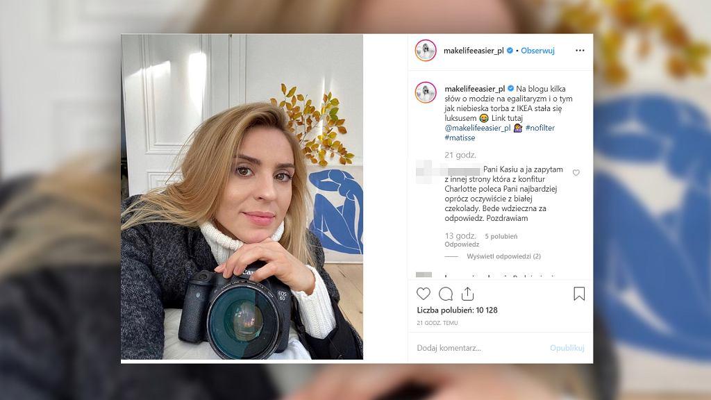 Kasia Tusk woli kupować ubrania dla swojej córki niż dla siebie
