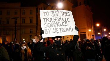 29.10.2020. Ósmy dzień strajku kobiet w Łodzi