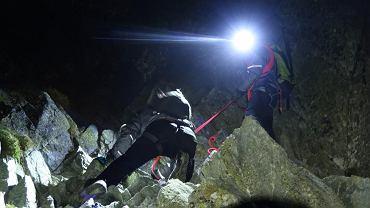 Akcja słowackich ratowników na Gerlachu