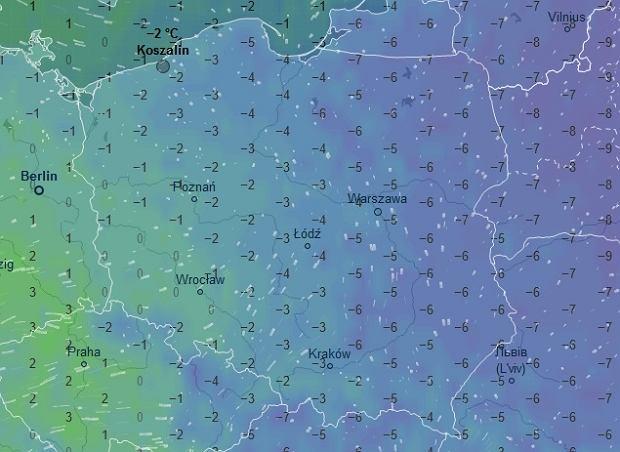 Temperatura w sobotę ok. godz. 16