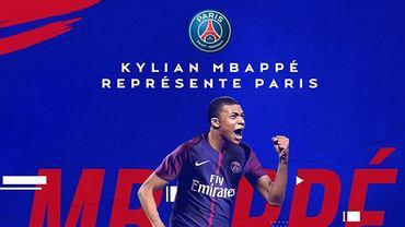 Kylian Mbappe piłkarzem Paris Saint-Germain