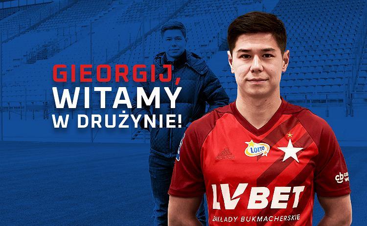 Gieorgij Żukow piłkarzem Wisły Kraków