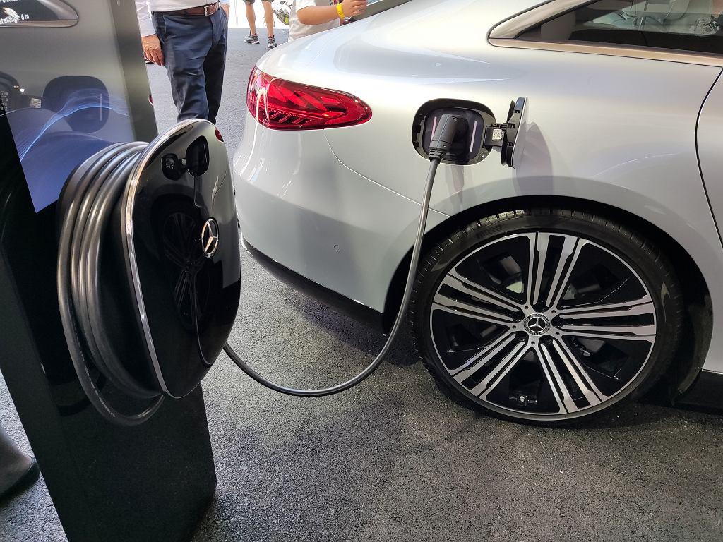 Najnowszy elektryczny Mercedes Klasy S