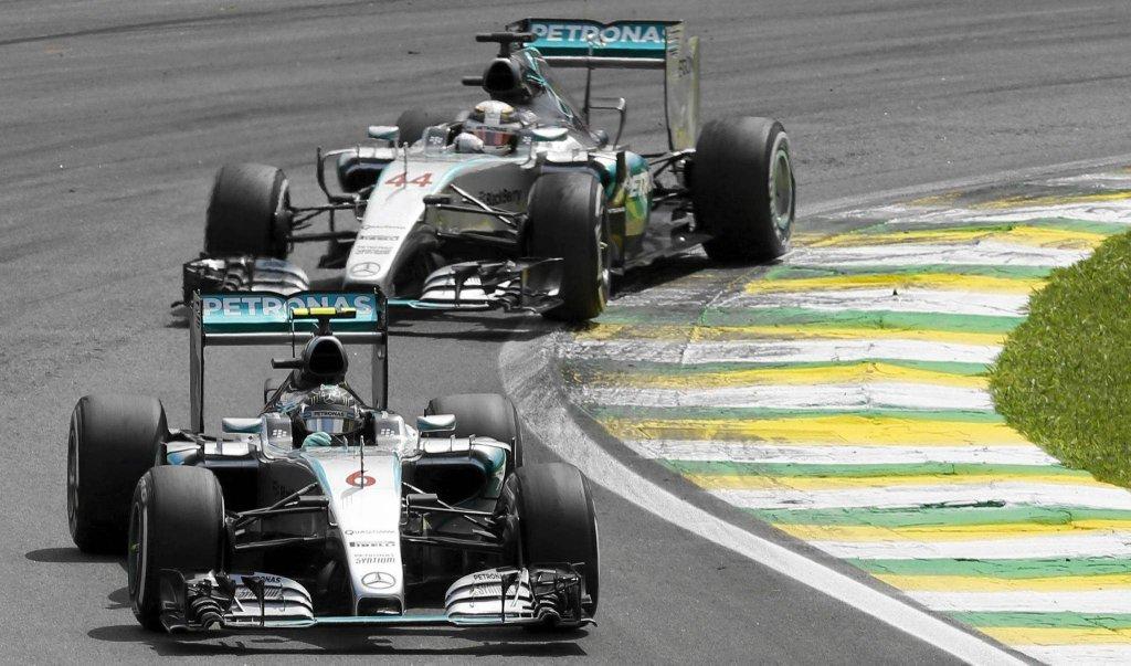 Nico Rosberg i Lewis Hamilton