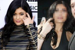 Kylie Jenner w maju 2015 i w listopadzie 2015