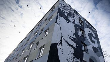 Mural powstał na budynku UMK przy ul. Reja 25, w pobliżu kampusu uniwersyteckiego