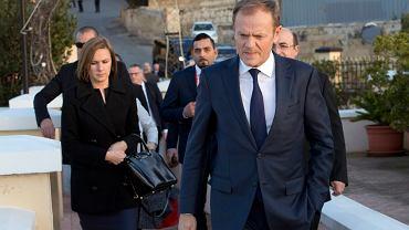 Donald Tusk na szczycie UE na Malcie
