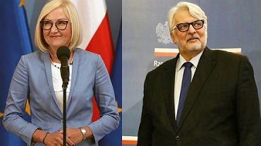 Joanna Kopcińska, Witold Waszczykowski