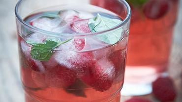 Malinowa ice tea