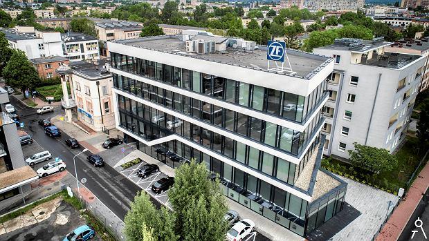 Wyróżnienie w konkursie Fasada Roku 2019 - budynek biurowy przy ul. Racławickiej w Częstochowie
