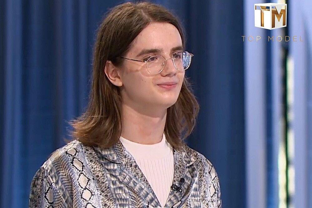 Krzysztof z programu 'Top Model'
