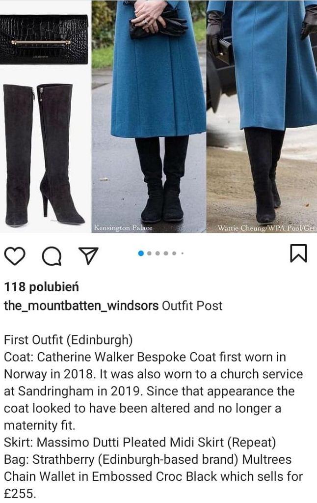 Stylizacja księżnej Kate