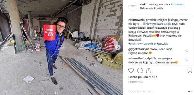 Kuba Wojewódzki otworzy restaurację Niewinni Czarodzieje 2.0 w Elektrowni Powiśle