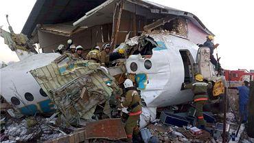 Katastrofa samolotu w Kazachstanie