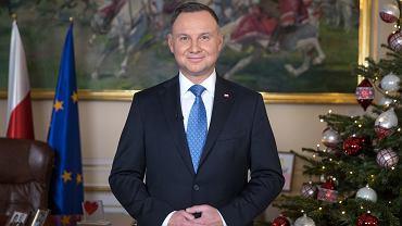 Noworoczne orędzie prezydenta Andrzeja Dudy