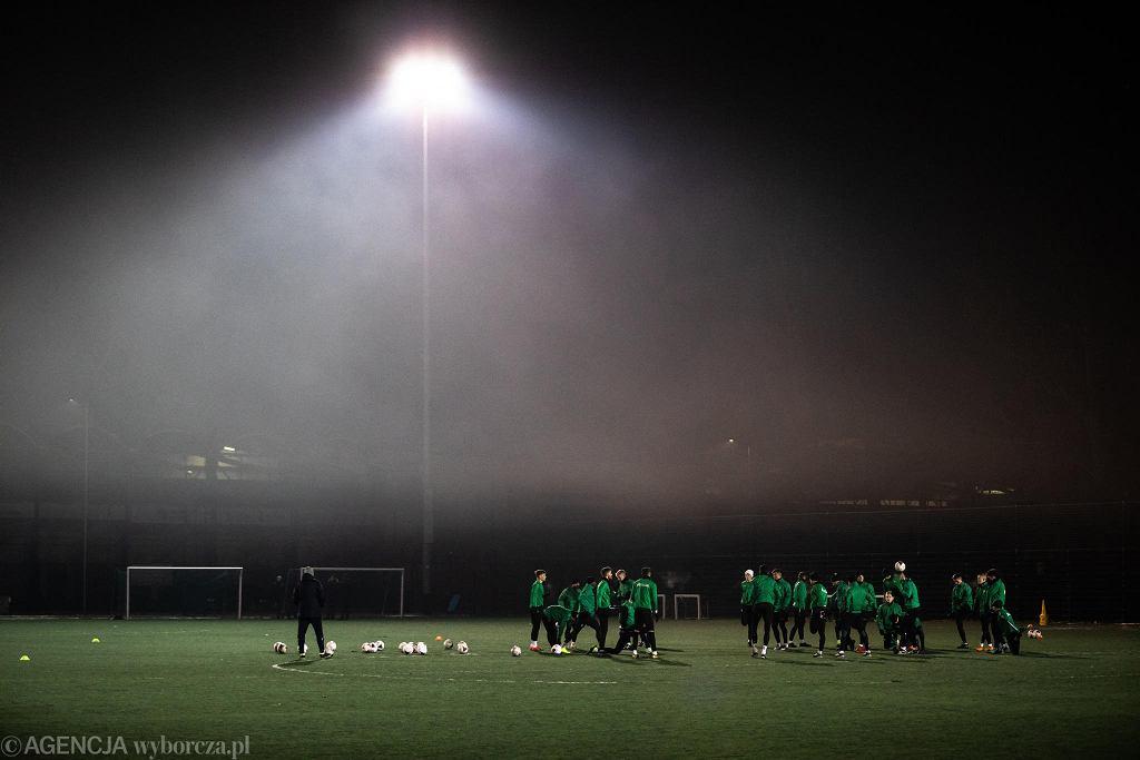Pierwszy trening piłkarzy Górnika Łęczna przed drugą częścią sezonu 2019/2020