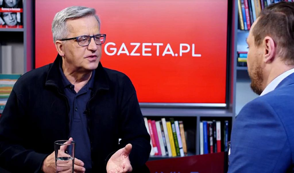 Bronisław Komorowski w Porannej rozmowie Gazeta.pl
