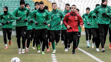 Pierwszy trening piłkarzy Lechii w 2015 roku