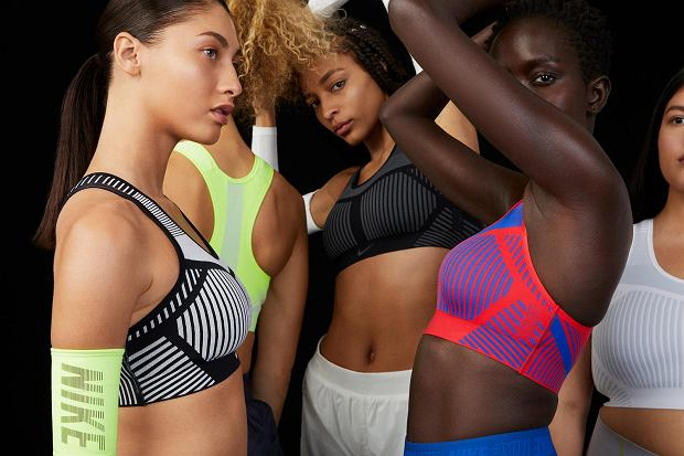 Nowy biustonosz sporty Nike