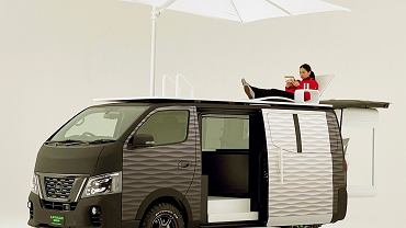 Nissan NV350 Caravan Office Pod