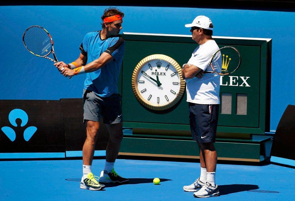 Rafael Nadal i Toni Nadal