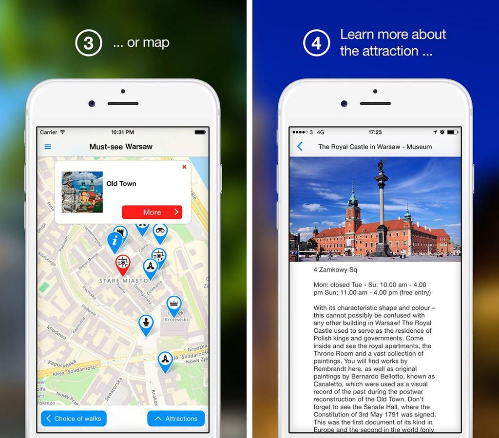 Nowa aplikacja WarsawTour