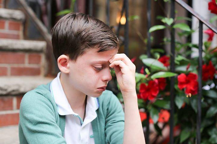 Zdjęcie siedmioletniego chłopca płaczącego, które trafiło na Humans of New York