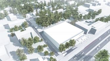 Poprzedni projekt krytego lodowiska w Gdyni. Teraz trzeba wykonać nowy