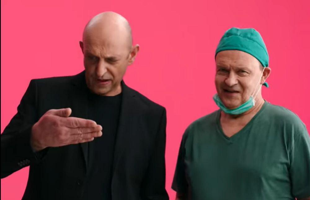 Janusz Chabior i Jan Frycz