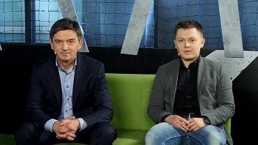 Waldemar Fornalik i Tomasz Ćwiąkała w Sekcji Piłkarskiej