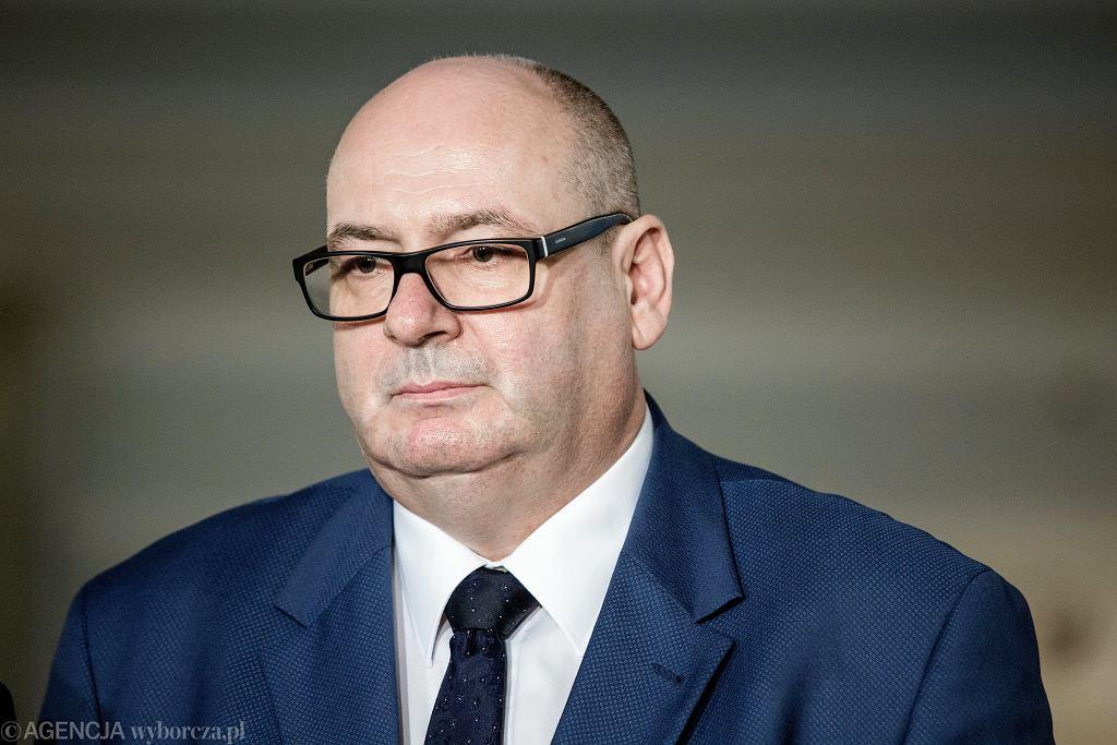 Wicemarszałek Sejmu Piotr Zgorzelski (PSL)