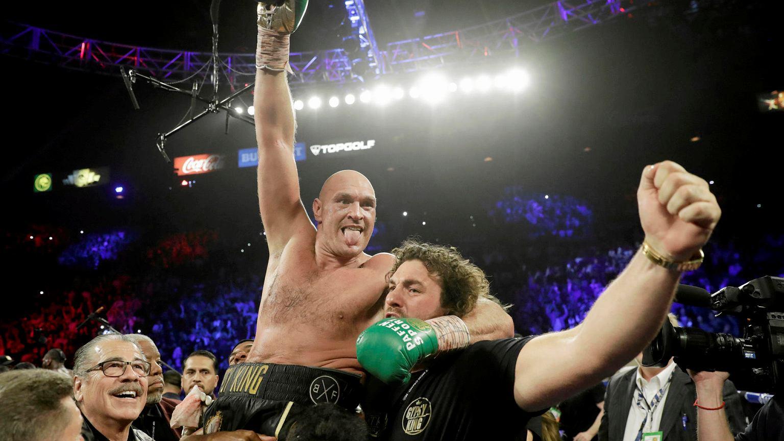 Tyson Fury skomentował spektakularne zwycięstwo nad Deontayem Wilderem