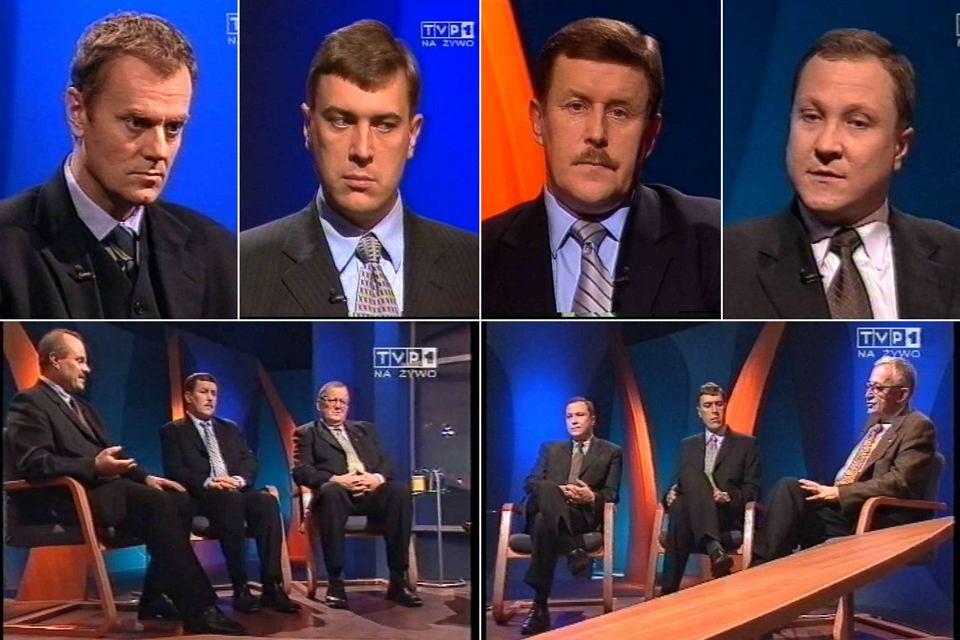Fragmenty programu Forum TVP z roku 2002