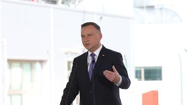 Prezydent Andrzej Duda w Świnoujściu