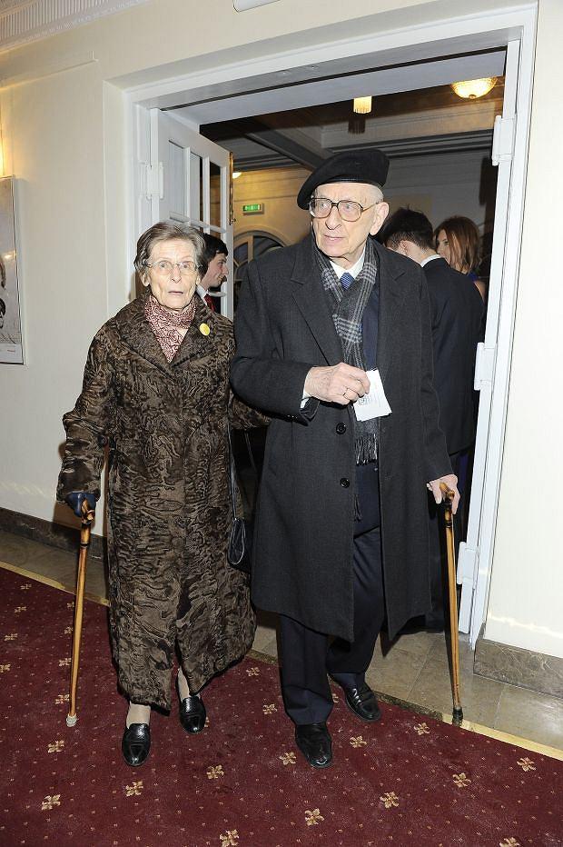 Władysław Bartoszewski, żona