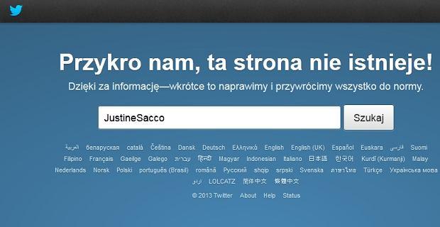 Skasowany profil Sacco