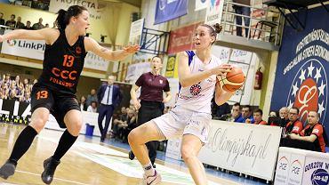 Piąty, rozstrzygający mecz w ćwierćfinale play-off koszykarek: AZS AJP Gorzów - CCC Polkowice po dogrywce 81:87. Zespół CCC zagra w półfinale
