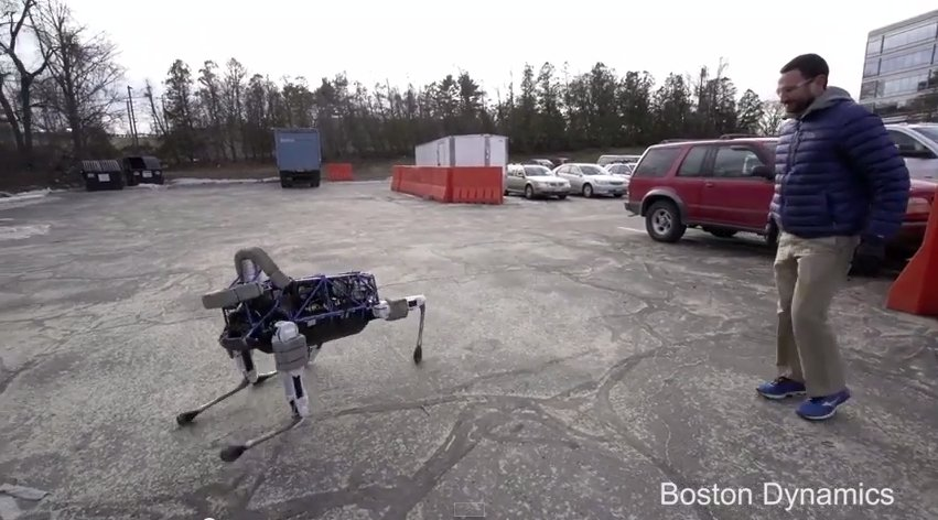 Spot, nowy robot Boston Dynamics