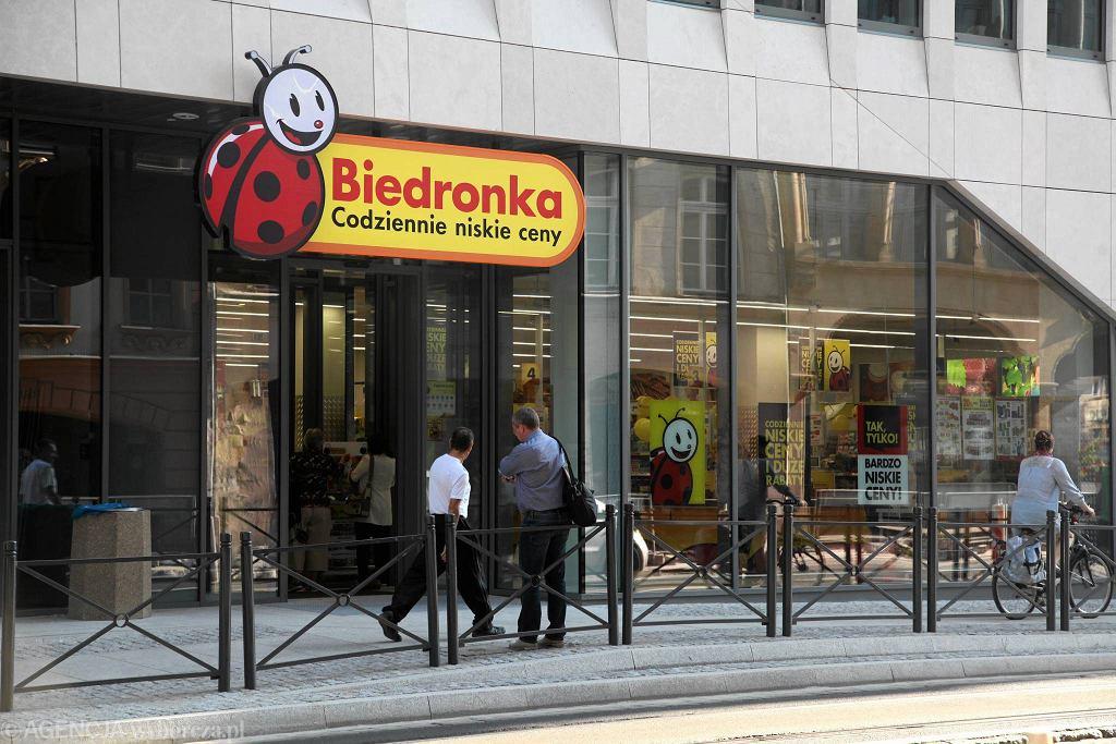 Sklep Biedronka przy ul. Ruskiej we Wrocławiu